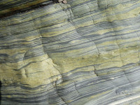 Detail of amphibolites, Cadgwith Cove.